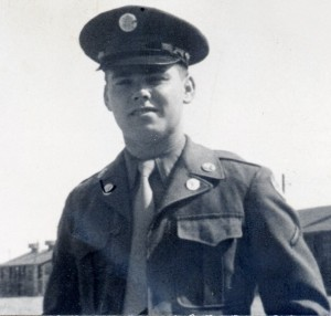 Robert Harris Wilson tried to enter the military at 17, but had to wait a year.