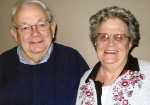 Uncle Bill and his sister, Mary